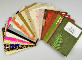 handmade paper swatch packs