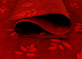 Romantic Red gift wrap | Wild Paper handmade paper