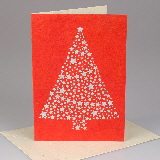 Handmade Christmas cards from Nepal