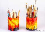 Handmade Paper Pencil holder